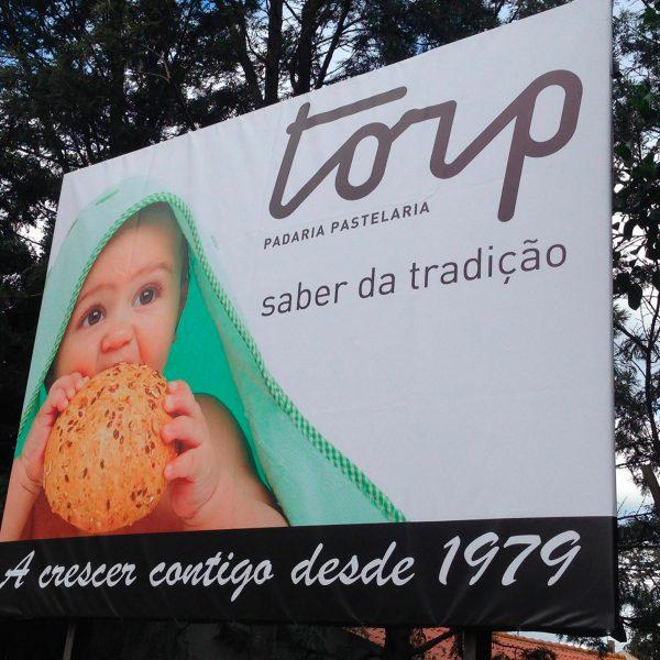 Outdoor Publicitário - Torp - RJB Publicidade