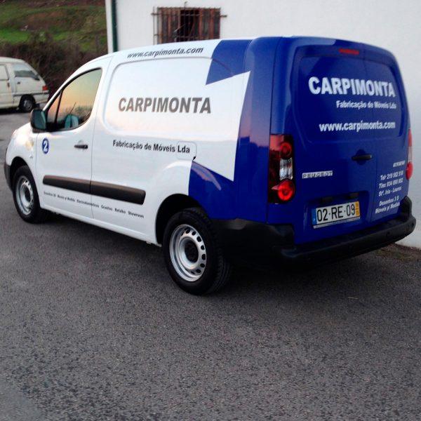 Decoração de Viaturas - Carpimonta - RJB Publicidade