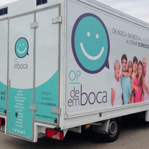 Decoração de Viaturas - Oral Project - RJB Publicidade