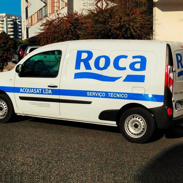 Decoração de Viaturas - Roca - RJB Publicidade