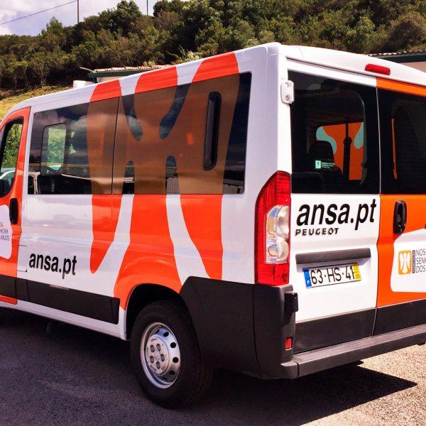 Decoração de Viaturas - ANSA - RJB Publicidade