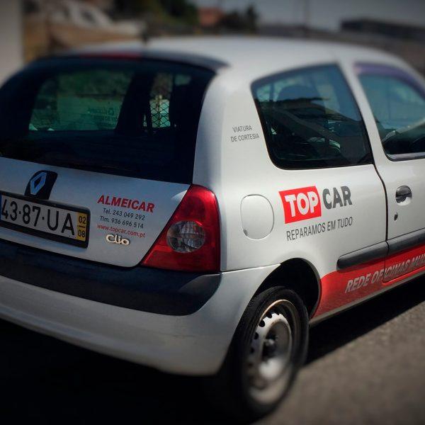 Decoração de Viaturas - TopCar - RJB Publicidade