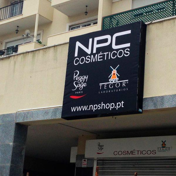 Lona Publicitária - NPC - RJB Publicidade