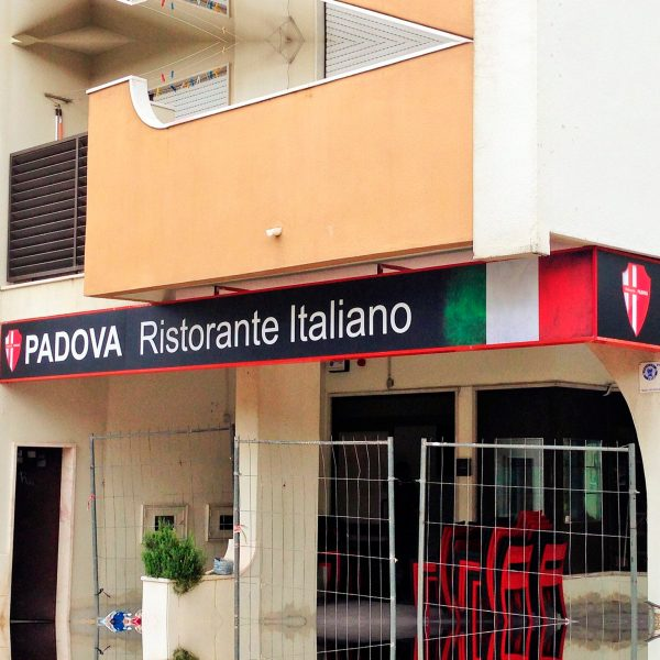 Reclamo Luminoso Padova- RJB Publicidade