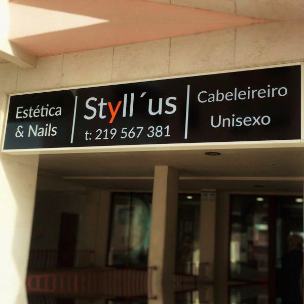 Reclamo Luminoso Styllus- RJB Publicidade