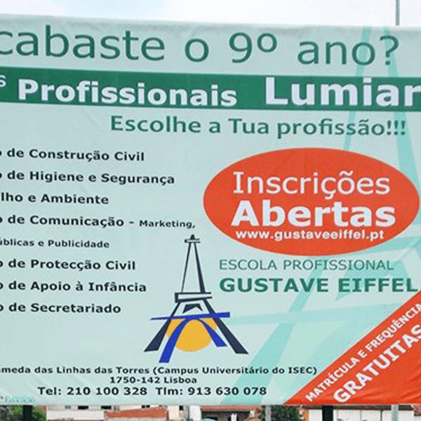 Outdoor Gustave Eiffel - RJB Publicidade