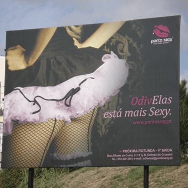 Outdoor Ponto Sexy- RJB Publicidade