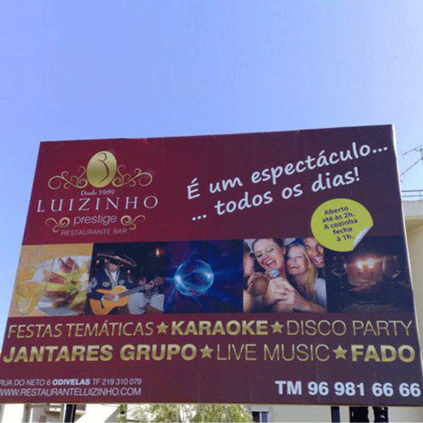 Outdoor Luizinho - RJB Publicidade
