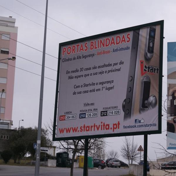 Outdoor Starvita - RJB Publicidade