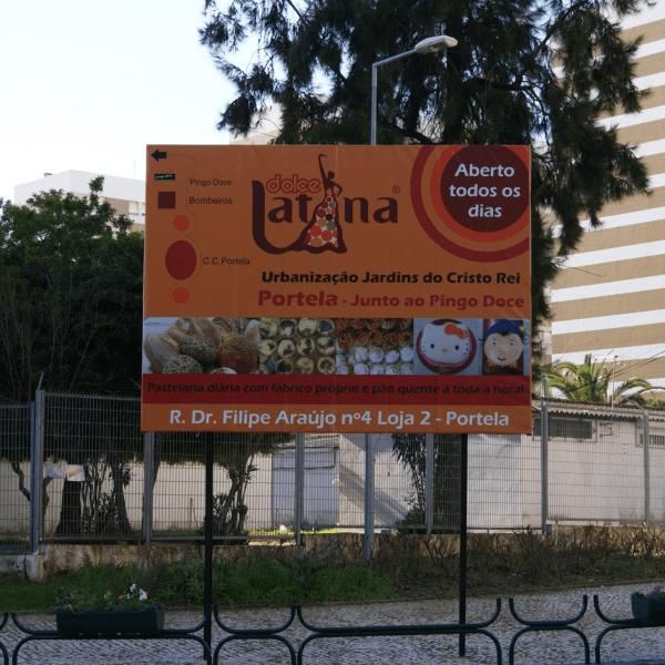 Outdoor Dolce Latina - RJB Publicidade