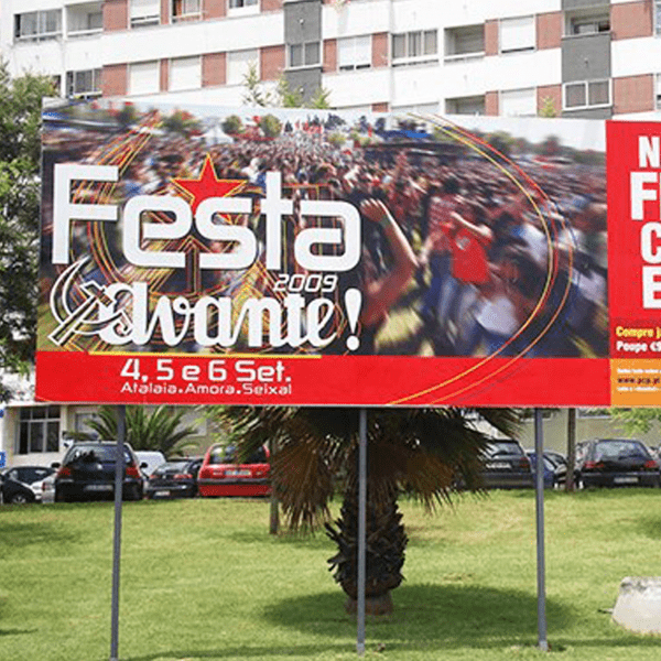 Outdoor Festa do Avante - RJB Publicidade