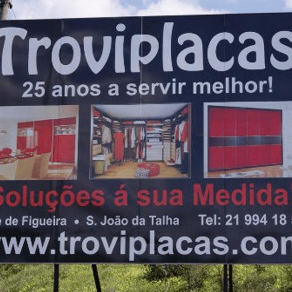 Outdoor Troviplacas - RJB Publicidade