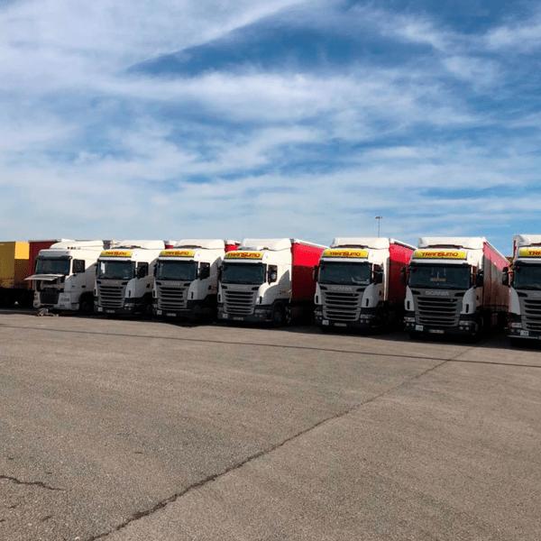 Decoração de Frota de Camiões