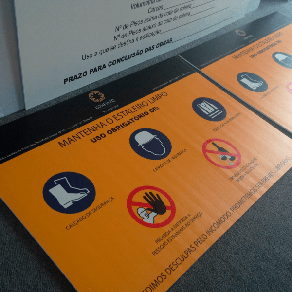 Placas PVC - Confiarq